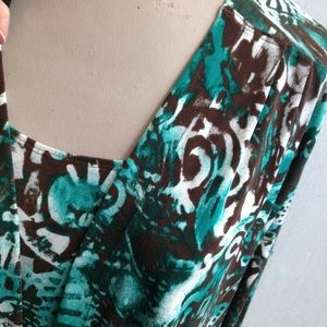 Chico's Jackets & Coats - Chico's Flowy Print 2 Pc  Cardigan Jacket & Tank